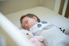 Schlafendes Schätzchen Stockfoto