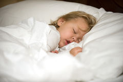 Schlafenengel Lizenzfreies Stockbild