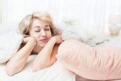Schlafengesicht Stockbilder