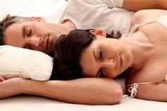 Schlafenpaare Lizenzfreies Stockbild