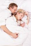 Schlafenpaare Lizenzfreie Stockfotografie