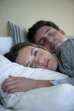 Schlaflosigkeit Lizenzfreies Stockbild