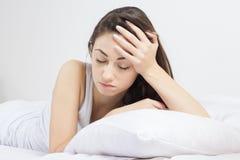 Schlaflosigkeit Lizenzfreie Stockfotos