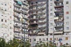 Schlafsaalbereich mit den Wohngebäuden lizenzfreies stockfoto