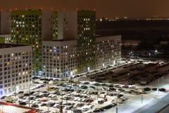 Schlafsaalvorort von Moskau lizenzfreie stockbilder