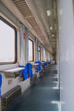 Schlafwagen des Personenzugs lizenzfreies stockfoto