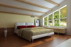 Schlafzimmer Lizenzfreie Stockfotos
