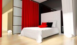 Schlafzimmer stockfotos