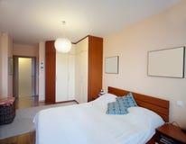 Schlafzimmer. Lizenzfreie Stockfotos