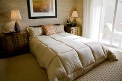 Schlafzimmer 2669 hdr Lizenzfreie Stockfotografie