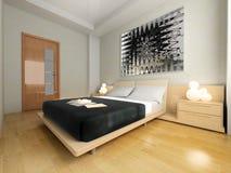 Schlafzimmer lizenzfreie abbildung