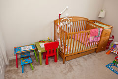 Schlafzimmer des Kindes Lizenzfreie Stockfotografie