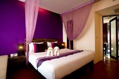 Schlafzimmer-Hotel-Serie 07 Lizenzfreie Stockfotografie