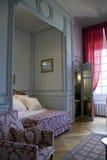 Schlafzimmer im Chateau Cheverny stockfotografie