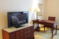 Schlafzimmer im Hotel Stockfotos