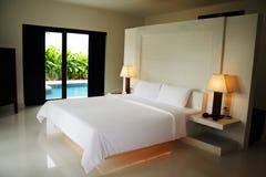 Schlafzimmer-Innenraum Lizenzfreie Stockbilder