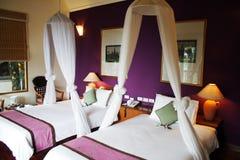 Schlafzimmer-Innenraum Lizenzfreies Stockfoto