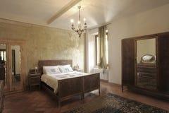 Schlafzimmer in Italien Lizenzfreie Stockfotografie