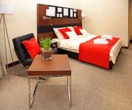 Schlafzimmer modern Lizenzfreie Stockfotos