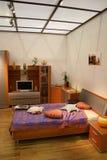 Schlafzimmer und Dach Lizenzfreie Stockfotos
