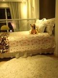 Schlafzimmerdachboden Stockfotografie