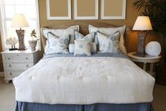 Schlafzimmerdekor Stockfoto