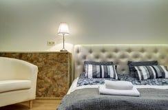 Schlafzimmerfragment stockfotos