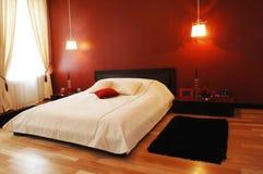 Schlafzimmerinnenraum Lizenzfreies Stockfoto