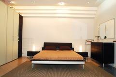 Schlafzimmerinnenraum Stockbild