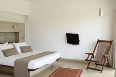 Schlafzimmerinnenraum Stockbilder