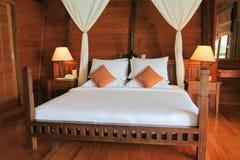 Schlafzimmerinnenraum Stockfoto