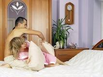 Schlafzimmerkämpfe Lizenzfreie Stockfotografie