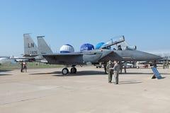 Schlag-Adler Douglas-F-15E Stockfoto