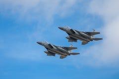 Schlag-Adler Douglas-F-15E Lizenzfreies Stockfoto