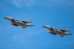 Schlag-Adler Douglas-F-15E Stockfotos