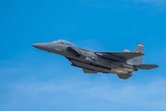 Schlag-Adler Douglas-F-15E Lizenzfreie Stockfotos