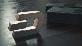 Schlag cryptocurrency metallisches Symbol Abbildung 3D stockbild