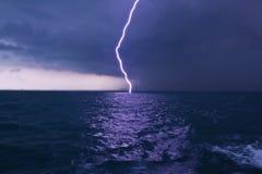 Schlag des Blitzes Lizenzfreie Stockfotos