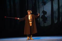 """Schlagen Sie ein Pferd herauf die Hügelpeking-Oper, die Tiger Montain By Strategyâ-€  """"Taking ist Lizenzfreies Stockbild"""