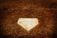 Schlagmal-Baseballspielergebnis im Spiel stockbild