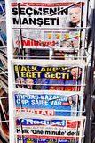Schlagzeilen stockfotografie