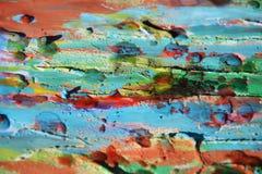 Schlamm, Farbe, Aquarellfarben, Stellen, abstrakter Hintergrund Lizenzfreie Stockbilder