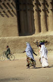 Schlamm-Moschee, Djenne, Mali stockfotos