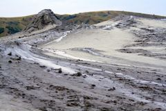 Schlamm-Vulkan, Berca Stockbilder