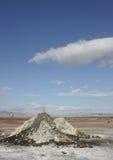 Schlamm-Vulkane in dem Salton Meer Lizenzfreie Stockfotos