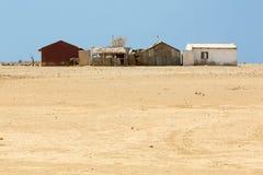 Schlammhaus, typische Wohnung von Wayuu-Indern im La Guajira Stockfotografie