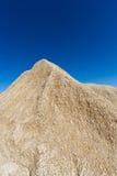 Schlammiger Vulkanboden Stockfotografie