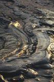 Schlammiger Vulkanhintergrund stockbild