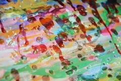 Schlammiger wächserner klarer Hintergrund in den klaren rosa bunten Farben Lizenzfreie Stockbilder