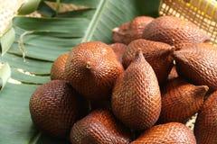 Schlange-Haut Salak Bali/des Balinese Frucht Stockbild